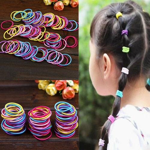 Lot Elastic Rope Women Holder Band Hairbands