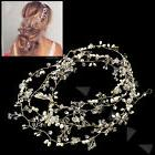 Luxury Diamante Bridal Wedding Hair Accessories Crystal Vine