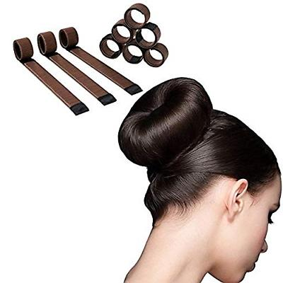 Magic Hair Bun Maker - 6 Pack - Extra Strength Donut Crown S