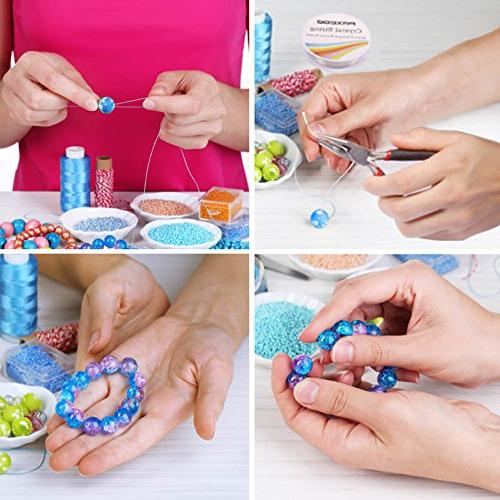 Paxcoo Jewelry Kit - Tools Pliers and Beading Wires Adult Beginners