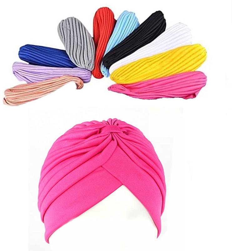 many pack stretch polyester turban head cover