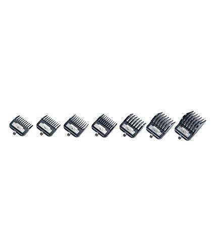 Andis 7 Master Premium Metal Hair Clipper Attachments Guides 33645