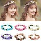 Multi-Color Boho Flower Floral Women Hairband Headband Crown