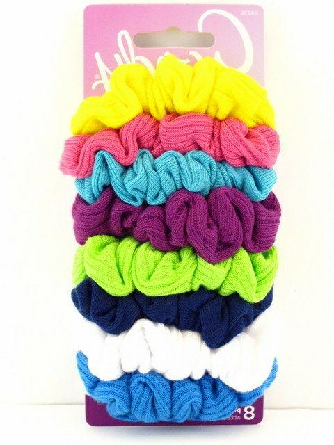 ouchless hair scrunchies 8 pcs 24856