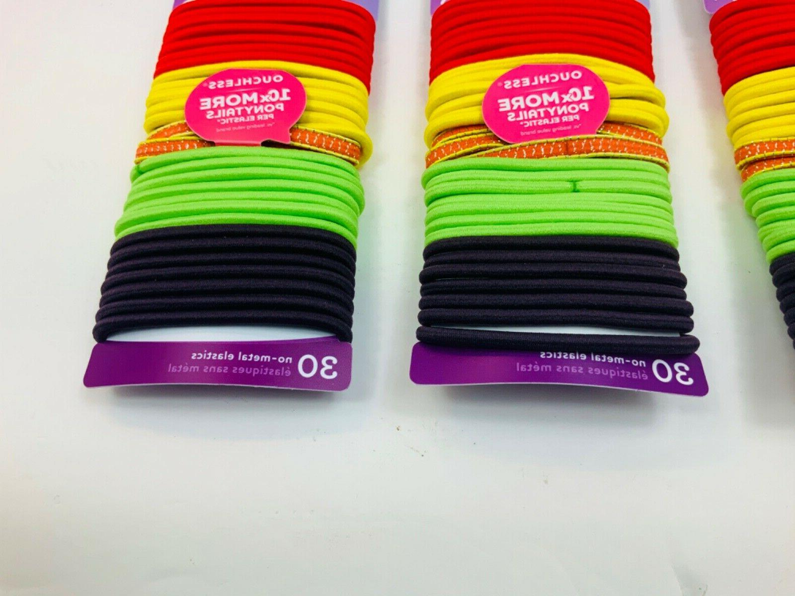 GOODY OUCHLESS No Elastic Holder 3pk SHIP