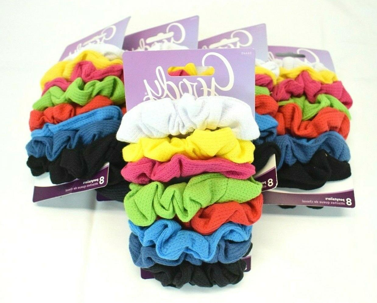 ouchless ribbed hair scrunchies wraps