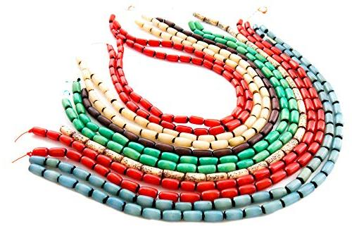 Over 350 Beads for Jewelry Buri and Nut Bead with Free Necklaces for - Native American, Theme Bracelets and