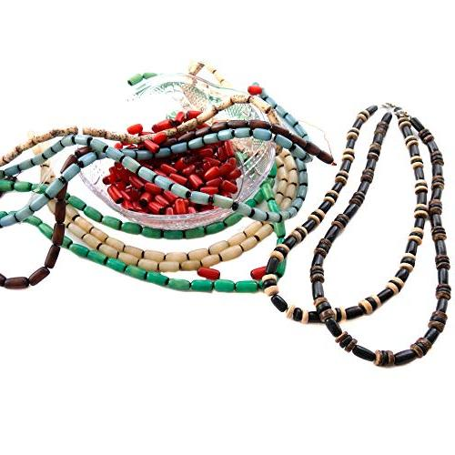 for Buri Bead Strands with Free Necklaces for Inspiration - American, Theme Bracelets