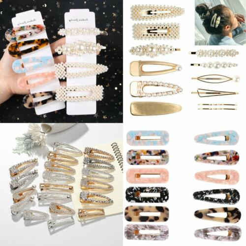 2020 Pearl Hair Clip Hairband Comb Bobby Pin Barrette Hairpi