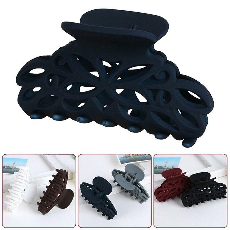 plastic hair claw clamps clips style fashion