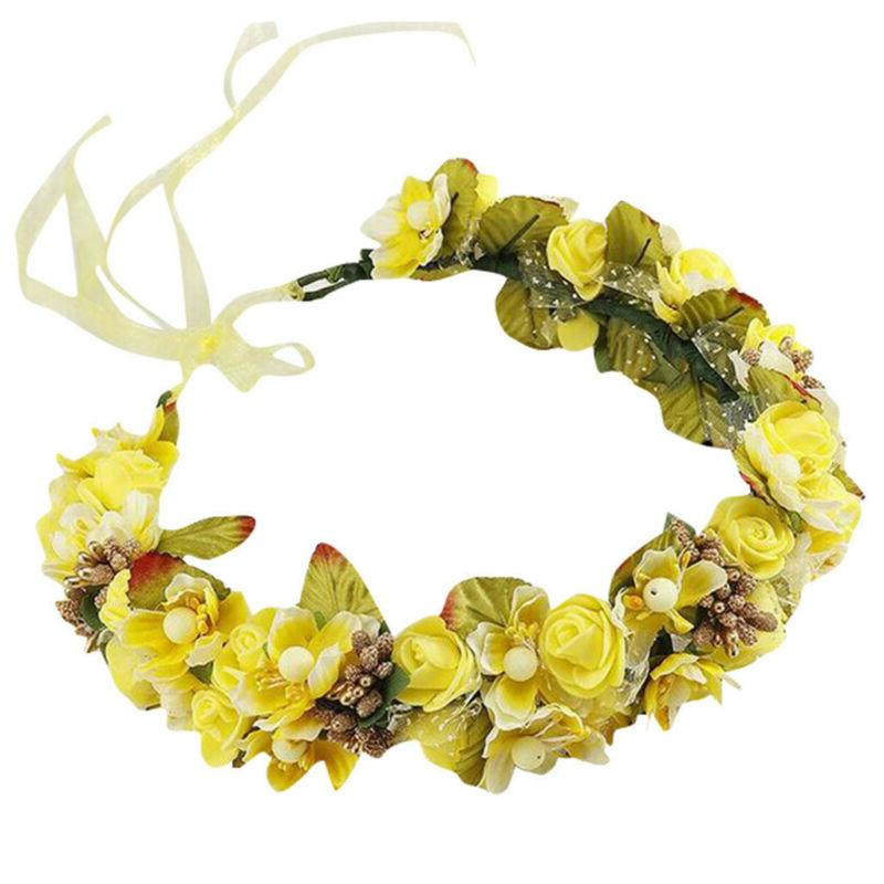 Pretty Flower Crown Hair Halo Accessory Prom S