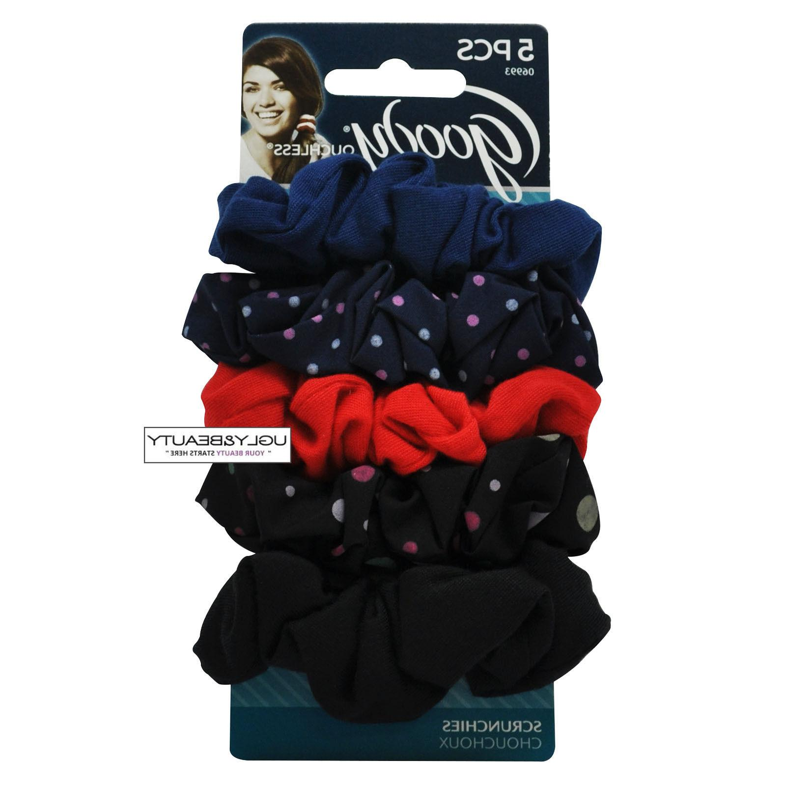 Goody Scrunchies Hair Bands 5 PCS