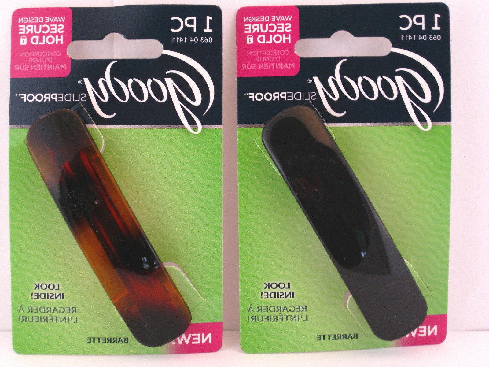 GOODY SLIDEPROOF AUTOCLASP HAIR BARRETTES -1 PC.
