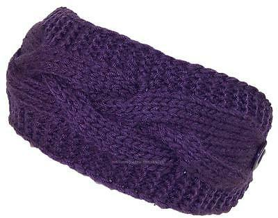solid color cable and garter stitch knit