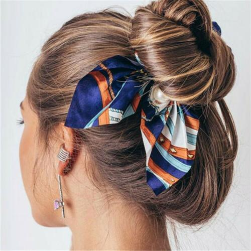 Solid Hair Band Elastic Ties