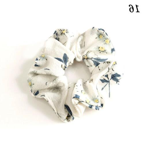 Spring Flower Ponytail Rope C8