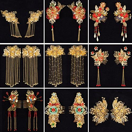 Homyl Butterfly Charms Hairpin,Hair Clip,Headwear Findings Making Gold