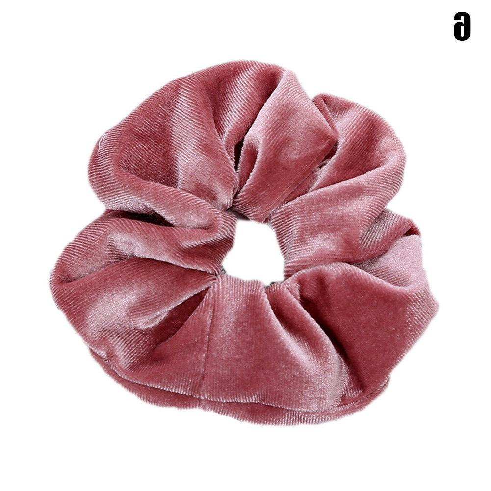 Sweet Velvet Elastic Rope Scrunchie Holder Rubber