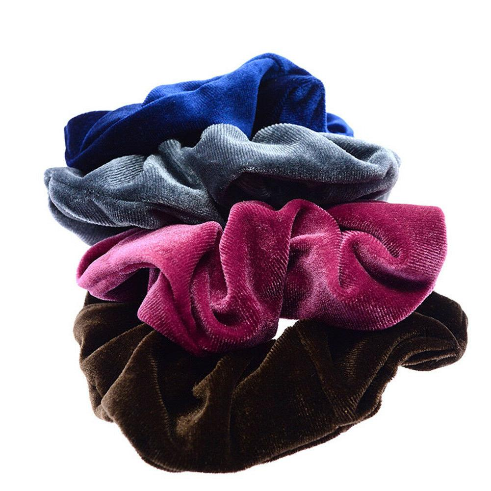 Sweet Elastic Rope Scrunchie Ponytail Rubber