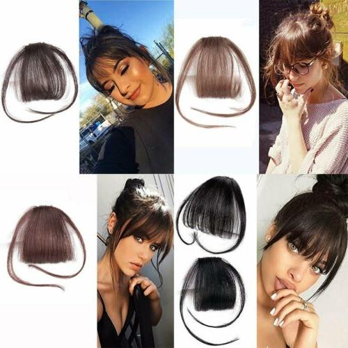 Real on Bangs Front Hairpiece