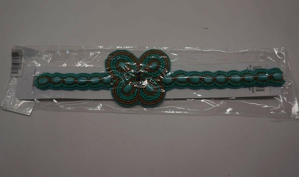Turquoise Gold Headband Hair India