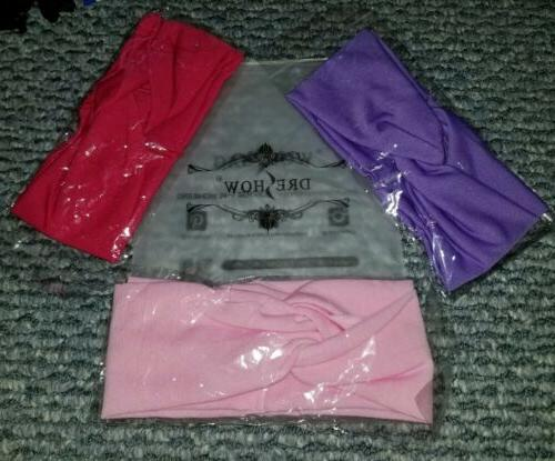 twisted headbands headwraps 3 pack