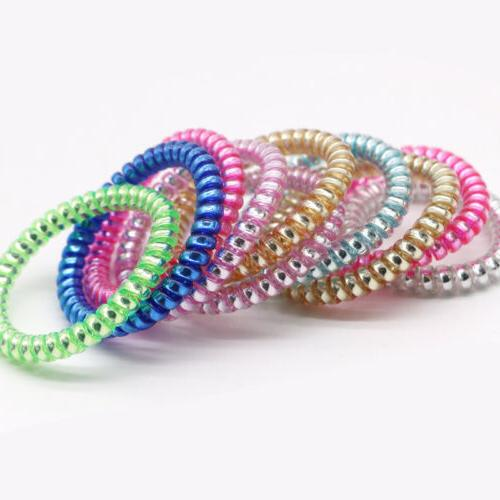 USA Telephone Wire Ties Band Rope Ponytail