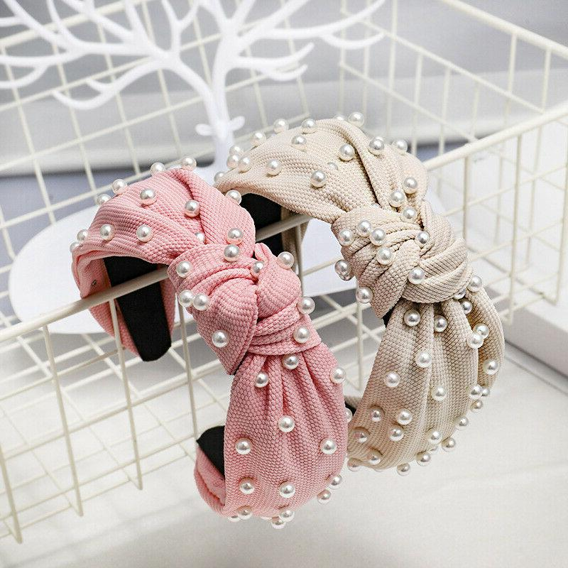 Vintage Knotted Knot Headband Women Band