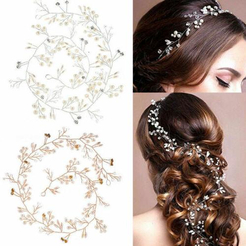 Pearl Long Headpiece