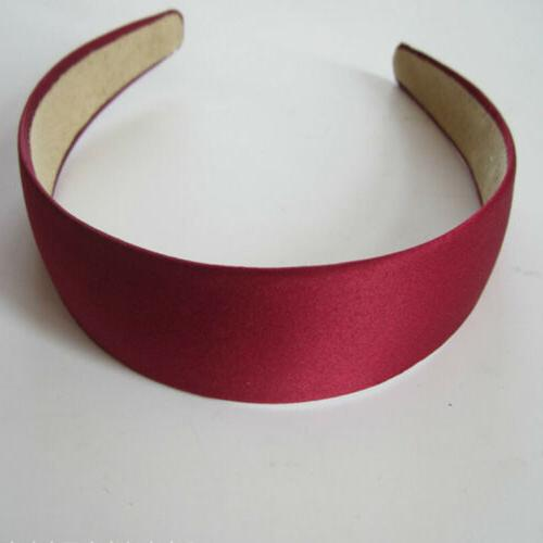 Wide Hairband Solid Color 3cm
