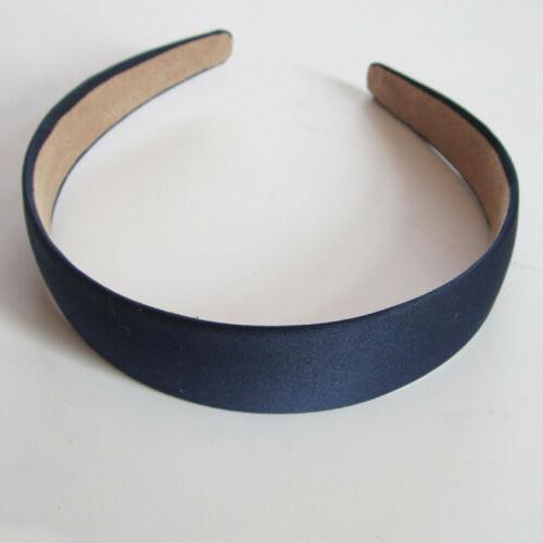 Wide Hair Solid Color Headband 3cm Hair Accessories