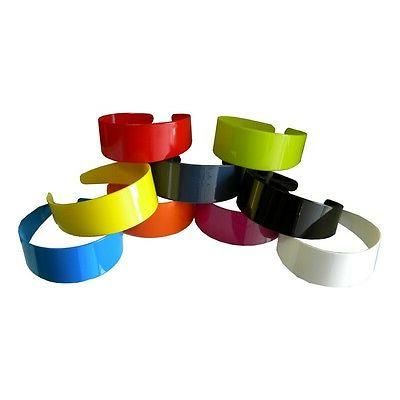 wide hard headbands vibrant colorful girls 2