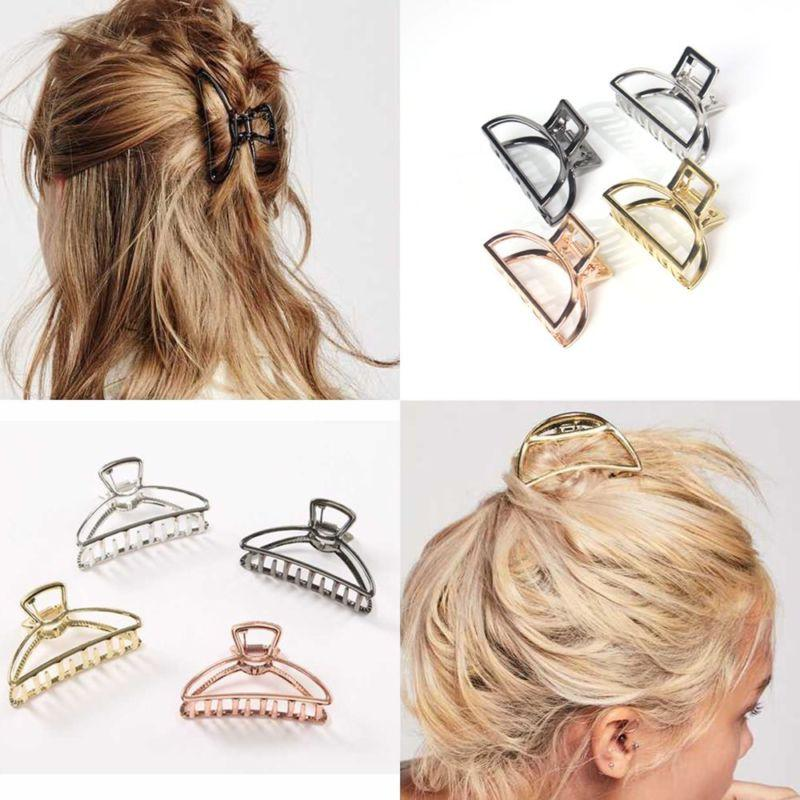 Women Fashion Hair Accessories Metal Modern Stylish L/S Hair