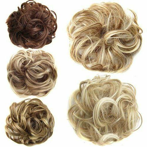 Women Ladies Messy Hair Extension Hairpiece
