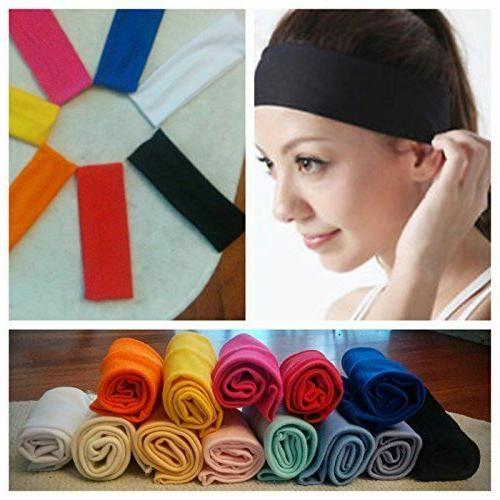 women men sport sweat sweatband headband yoga