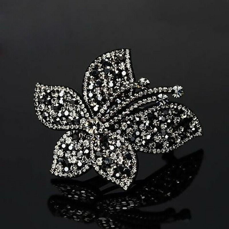Women's Slide Hairpin Comb Butterfly Accessories
