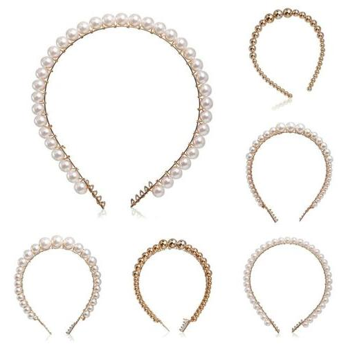 US Headband Crystal Party Hair Hoop