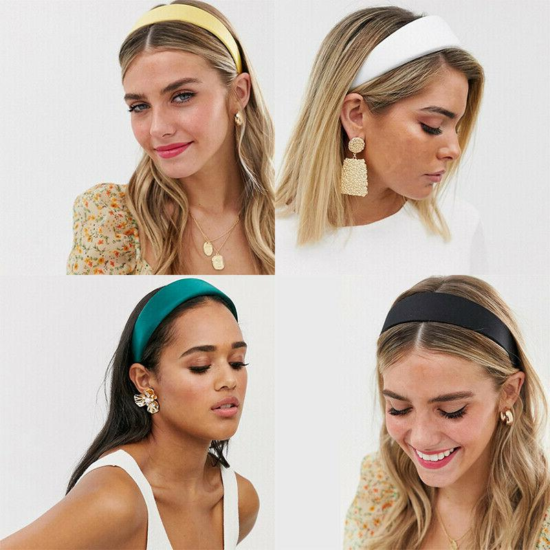Women's Leather Turban Hair Accessories Hoop