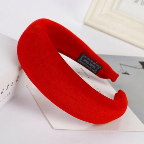 Women Hairband Sponge Hoop Hair