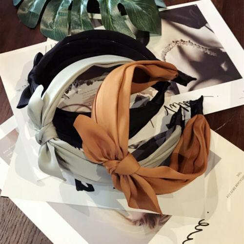 Womens Girls Sweet Wide Hairband Fashion