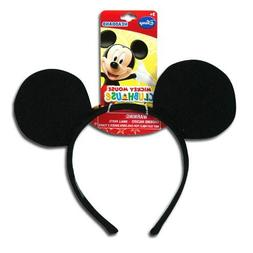 Official Licensed Mickey Classic Ear Shaped Headband with Ha