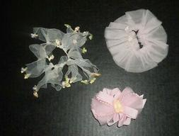 lot of 3 hair accessories by pink