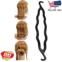 Magic Hair Twist Styling Clip Stick Bun Maker Braid Tool Hai