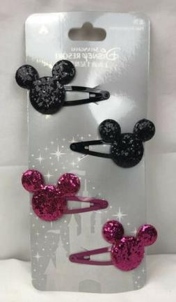 Disney Mickey Mouse Head Hair Accessories Resort Shanghai Bl