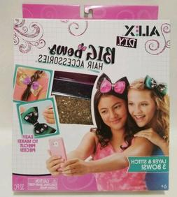 New ALEX Toys Craft Kit Kids Crafts DIY Big Bows Hair Access