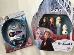 NEW Disney Frozen 2 PEZ Candy Dispensers Limited Edition Tin
