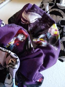 nightmare before christmas jack sally hair scrunchies