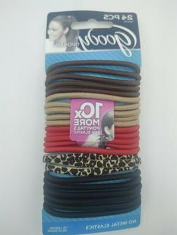 Goody Ouchless Elastics, Spot On 06493, 30 count