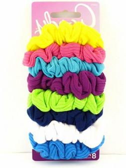 GOODY OUCHLESS HAIR SCRUNCHIES - 8 PCS.