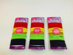 GOODY OUCHLESS No Metal Elastic Hair Ties Ponytail Holder 30